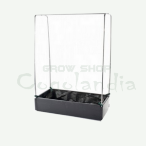 mini grow bed con estructura metalica