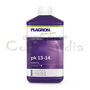 Fertilizer for the fattening of the plagron brand with a PK 13-14.