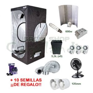 Complete Indoor Cultivation Kit 1,2 x 1,2 x 2m 10