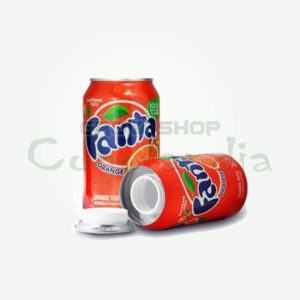 Orange Fanta Soft Drink Bottle Kit di occultamento di cannabis per festival