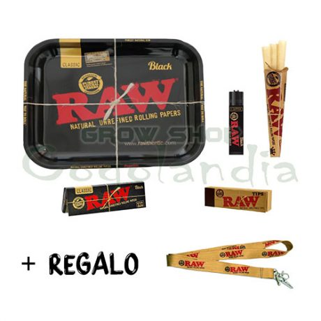PACK RAW BLACK