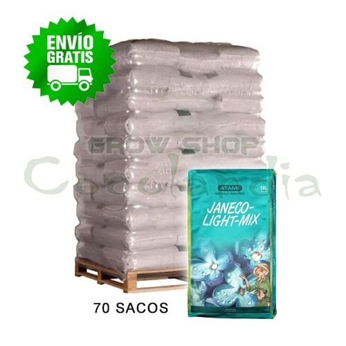 Substrato de palete completo Janeco Light Mix 50L
